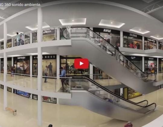 Shopping. 360º. Sonido ambiente.